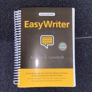 Easy Writer by Andrea A. Lansford